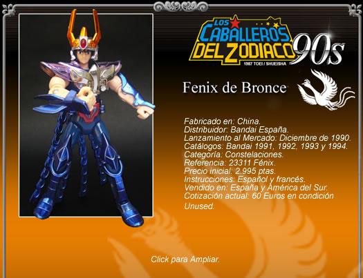Review 036 - Fénix V.1 Bandai Francia/JP 1987/ Bandai Reedit España 2006 Fichafenix1